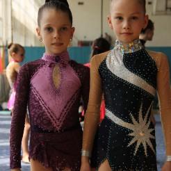 Милена Павловская и Каролина Двинянина 1-е место на области в июнь 2013